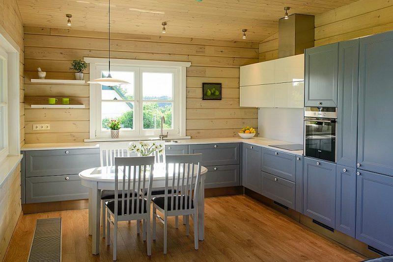 Sienu un grīdas apdarei – viegli kopjami un ekoloģiski materiāli.