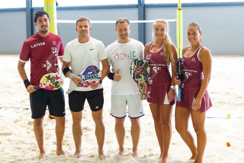 """""""Lavandās"""", Mārupes novadā tika atklāts Eiropā modernākais pludmales sporta centrs """"Ruukki"""""""