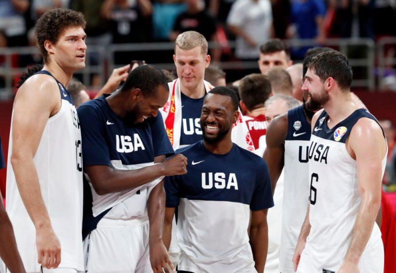 ASV basketbolisti Pasaules kausu noslēdza ar uzvaru, taču vien cīņā par septīto vietu.
