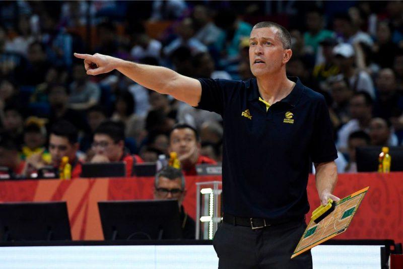 Latviešu izcelsmes Austrālijas basketbola izlases galvenais treneris Andrejs Lēmanis.