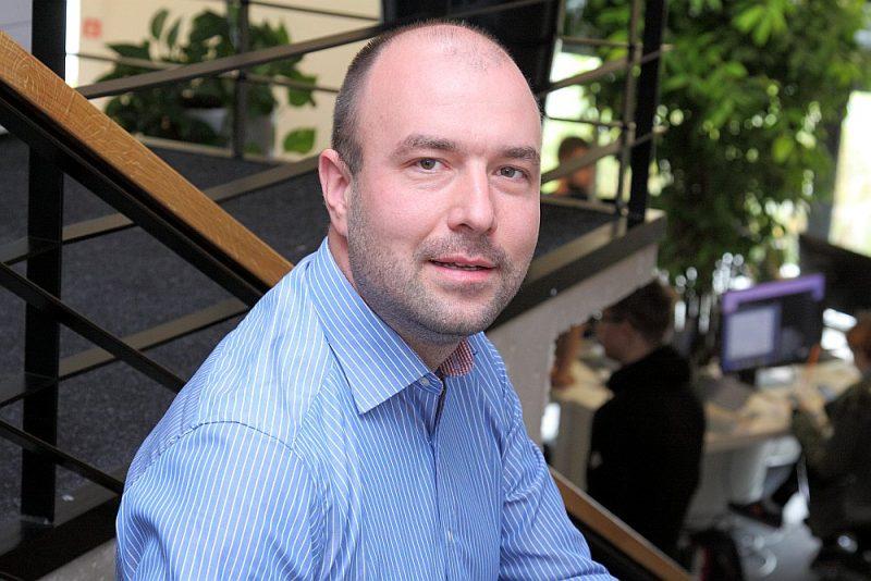 """""""Draugiem Group"""" uzņēmuma filiāļu attīstības vadītājs Armands Vīksna."""