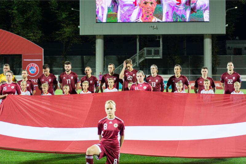 Latvijas futbolistiem piektā sausā spēle pēc kārtas.