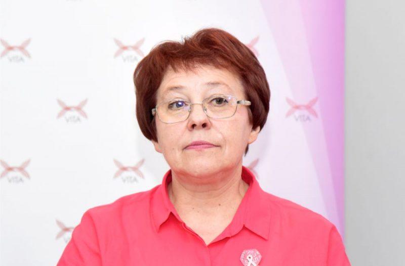 """Biedrības """"Vita"""" vadītāja Irīna Janum"""