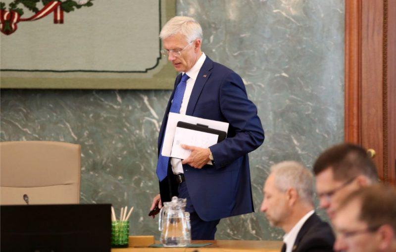 Ministru kabineta ārkārtas sēde par sadzīves atkritumu apsaimniekošanu Rīgā, 11.09.2019.