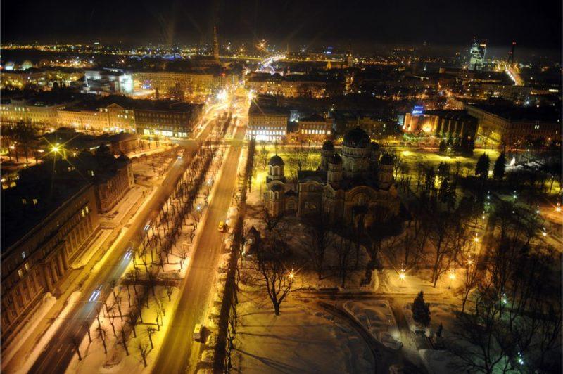 Rīga naktī