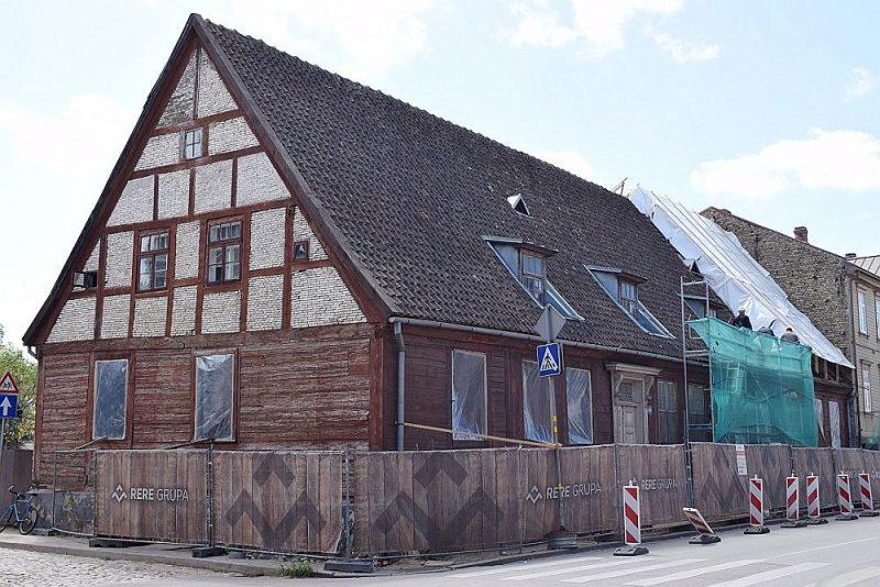 17. gs. arhitektūras piemineklis – Margarētas Hoijeres viesu nams Liepājā, Kungu ielā 24.