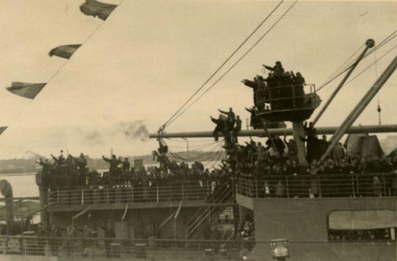 Lai aizvestu izceļotājus un viņu mantu, vācu kuģi veica ap 100 reisu. Vācbaltieši pārsvarā tika izmitināti nevis Vācijā, bet gan teritorijā, ko Otrā pasaules kara sākumā nacisti atņēma Polijai.