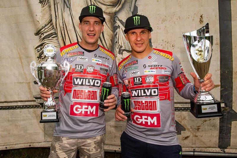 Etjēns Bakss un Kaspars Stupelis – 2019. gada pasaules čempioni motokrosā ekipāžām.