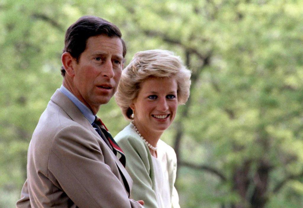 Princese Diāna, princis Čārlzs 1990.gadā.