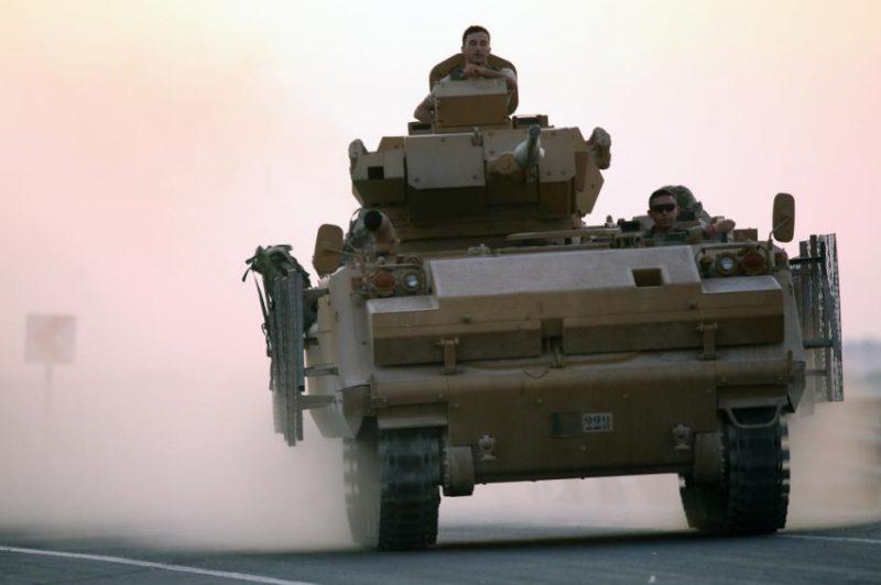 Turcijas bruņotie spēki trešdien sāka plašu uzbrukumu Sīrijas ziemeļos.