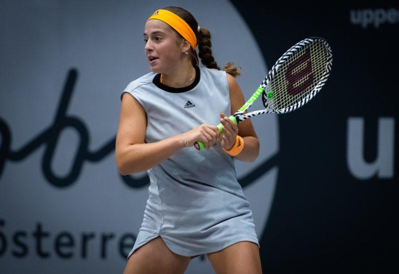 Aļona Ostapenko ceļā uz savu 2019. gada sezonas pirmo finālu.