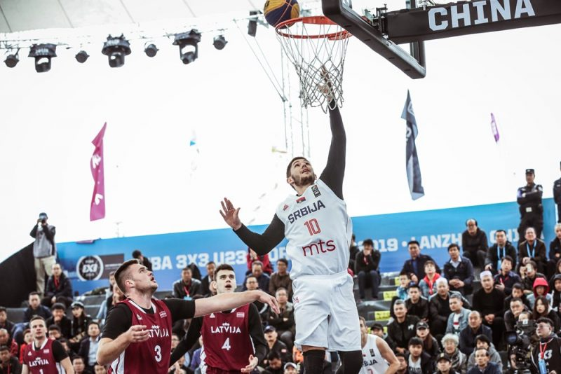 Latvija pret Serbiju Pasaules U-23 kausa izcīņas ceturtdaļfinālā.