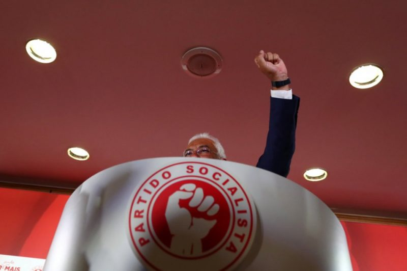 Premjerministra Antoniu Koštas vadītā PS saņēmusi 36,65% balsu