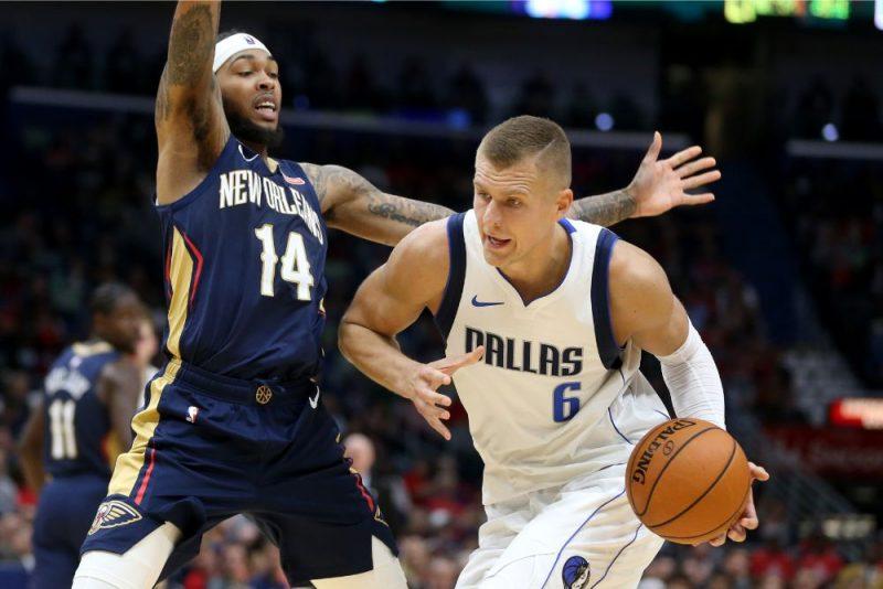 Kristaps Porziņģis atkal kļuvis par viena NBA rekorda īpašnieku.