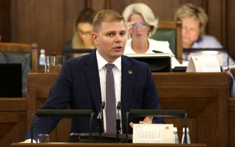 Saeimas deputāts Krišjānis Feldmans.