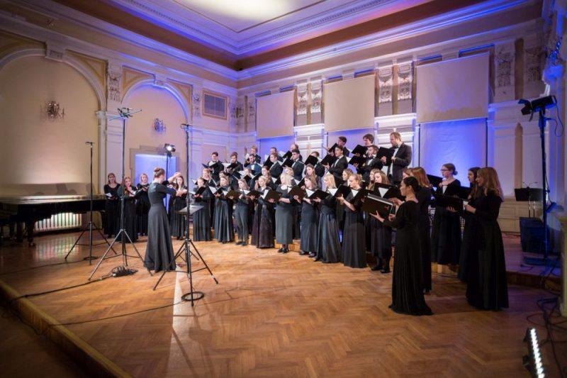 Jāzepa Vītola Latvijas Mūzikas akadēmijas (JVLMA) jauktais koris.