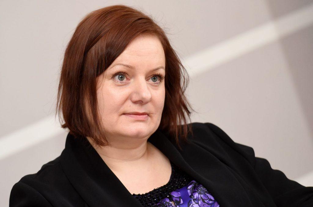 Olga Valciņa, Melanomas pacientu biedrības dibinātāja.
