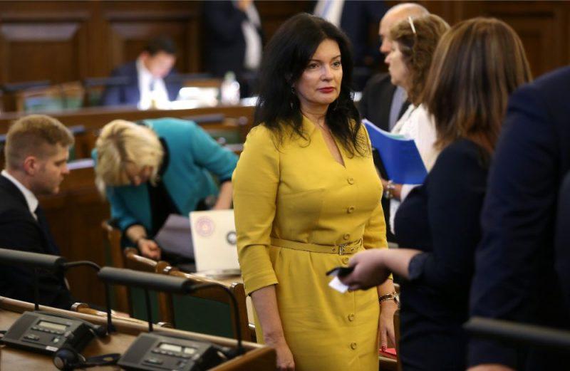 Saeimas deputāte, labklājības ministre Ramona Petraviča.