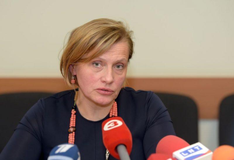 Latvijas Ārstu biedrības prezidente Ilze Aizsilniece.