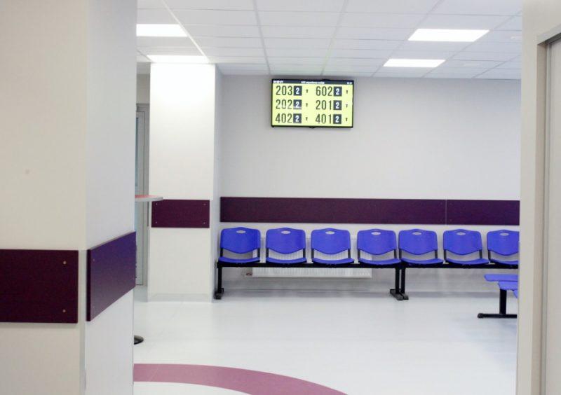 Onkoloģijas centrā atklāj jaunās pacientu uzņemšanas telpas, 16.10.2019.