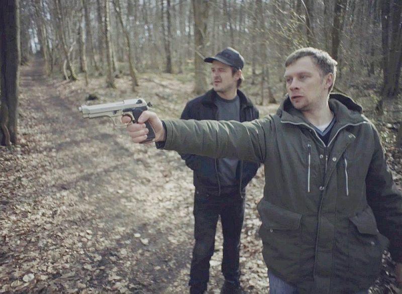 """Kadrs no Jura Kursieša filmas """"Oļegs""""."""