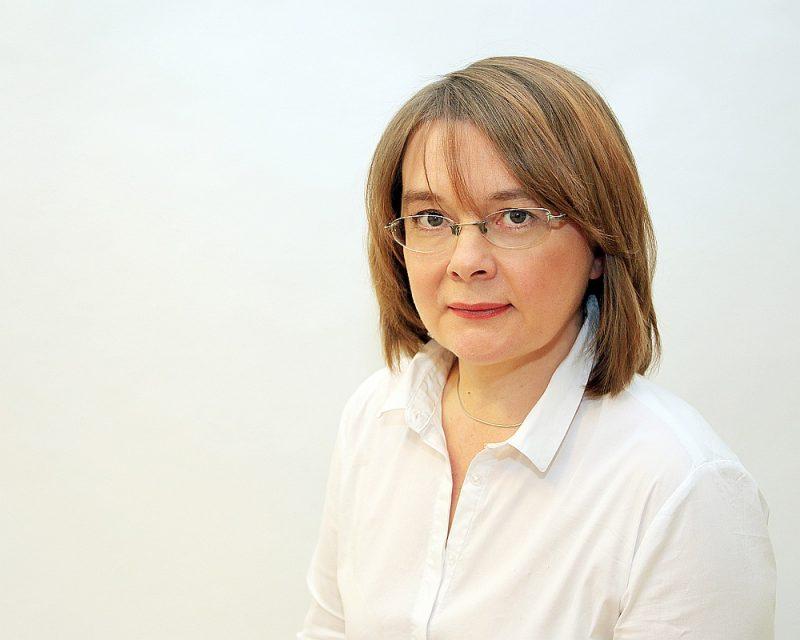 """""""Latvijas Avīzes"""" galvenā redaktore Linda Rasa."""