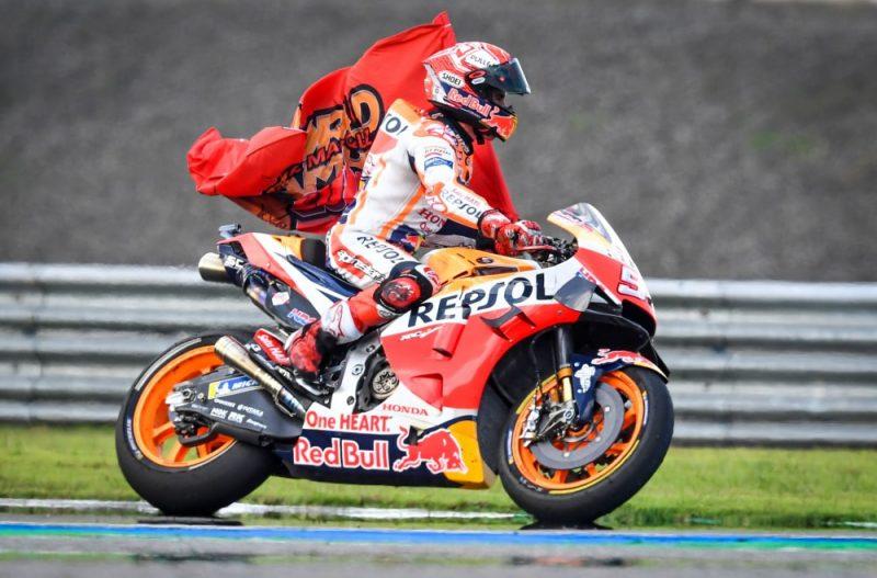 Spānis Marks Markess nodrošinājis sev sesto pasaules čempiona titulu prestižākajā MotoGP klasē.