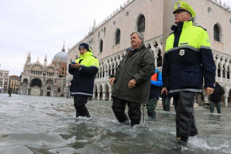 Plūdi Venēcijā