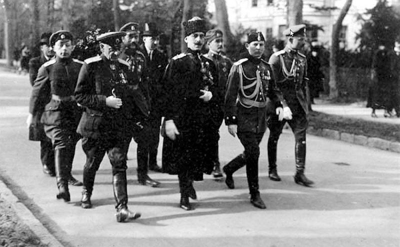 P. Bermonts pēc kara Vācijā.