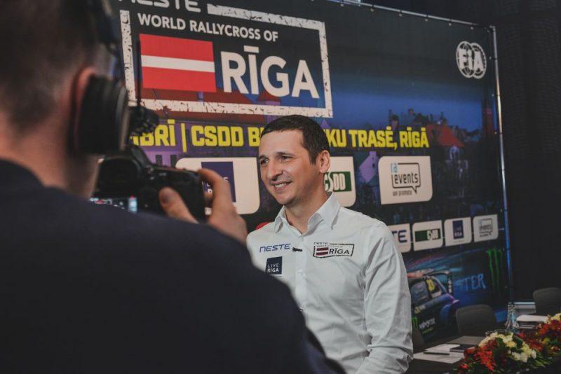 """""""Ra Events"""" vadītājs Raimonds Strokšs trešo reizi sarīkojis labāko pasaules rallijkrosa čempionāta posmu."""