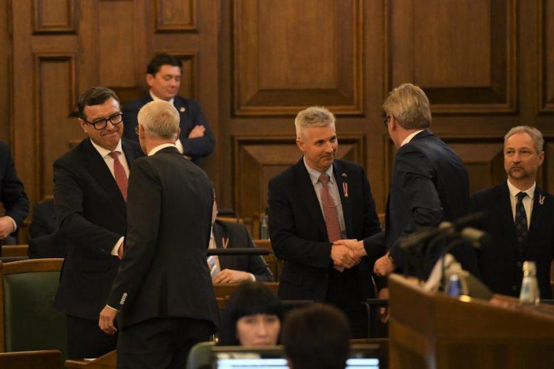 2019.gada 14.novembris. Saeimas ārkārtas sēdē.