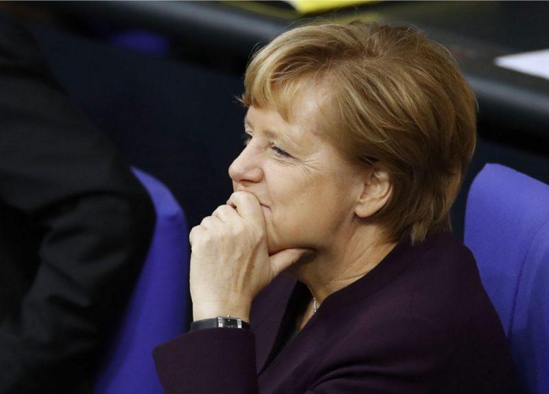 Vācijas kanclere Angela Merkele.