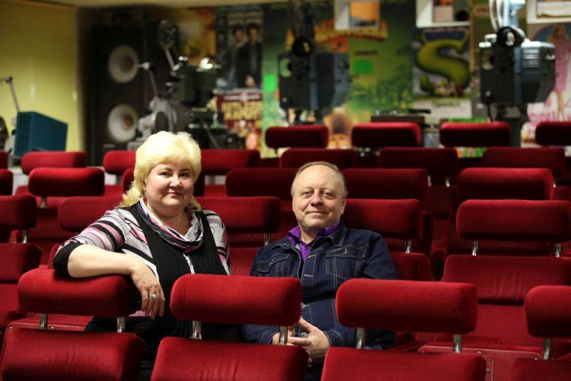 """""""Esam unikāli,"""" ar """"Kino fermu"""" lepojas tās saimnieki Aina un Aldis Slišani."""