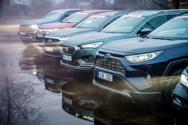 Latvijas gada auto 2020 piedalās 35 automašīnas