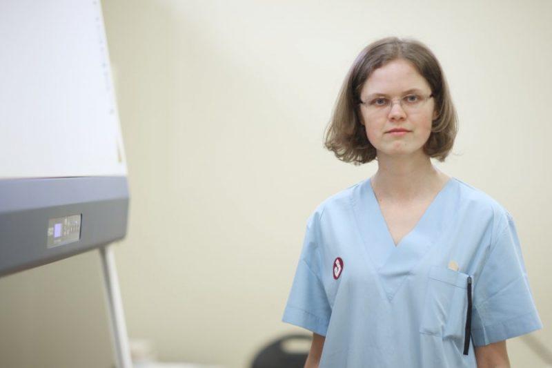 Bērnu klīniskās universitātes slimnīcas pediatre, bērnu infektoloģe Anda Nagle.