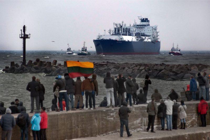 """""""Elenger"""" uzsāk dabasgāzes piegādes Latvijai no Klaipēdas peldošā LNG termināļa"""