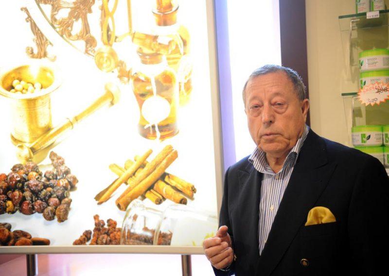 """Parfimērijas ražotāja AS """"Dzintars"""" valdes priekšsēdētājs Iļja Gerčikovs."""