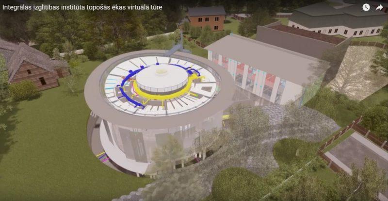 Ķīpsalā, Ogļu ielā sāks būvēt Ulda Pīlēna projektēto multifunkcionālo ēku kompleksu – olas formā.