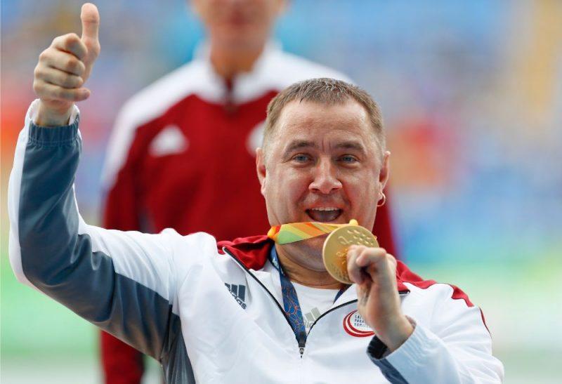 Aigars Apinis ir daudzkārtējs pasaules čempions paravieglatlētikā.