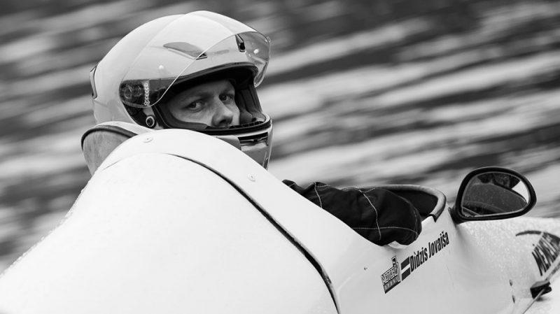 Didzis Jovaiša šogad kļuva par Latvijas čempionu ūdensmotosportā.