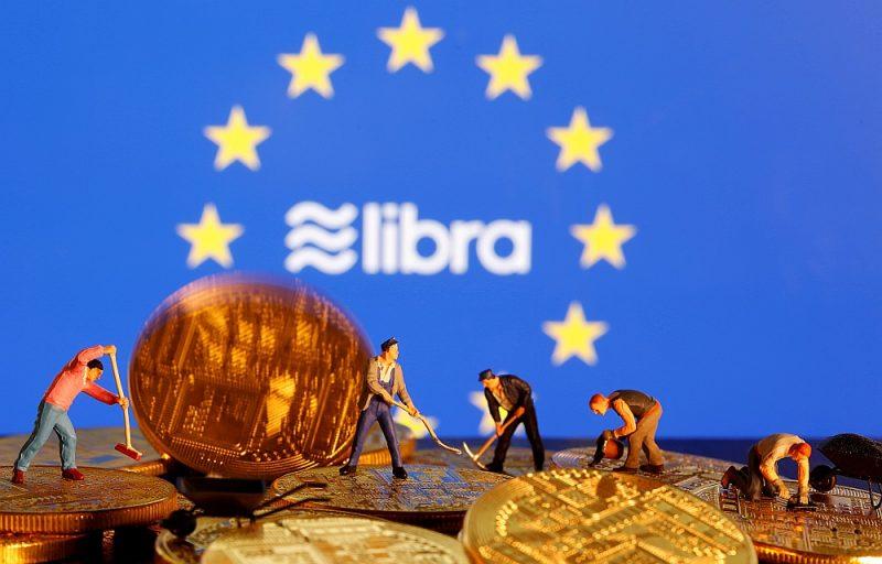 """""""Facebook"""" ar paziņojumu par libras izlaišanu metis izaicinājumu arī Eiropas Savienībai."""