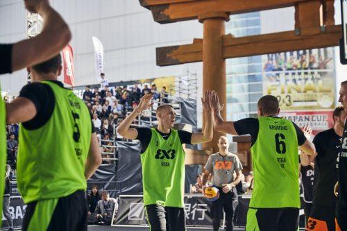 """Riga Ghetto Basket"" komanda."