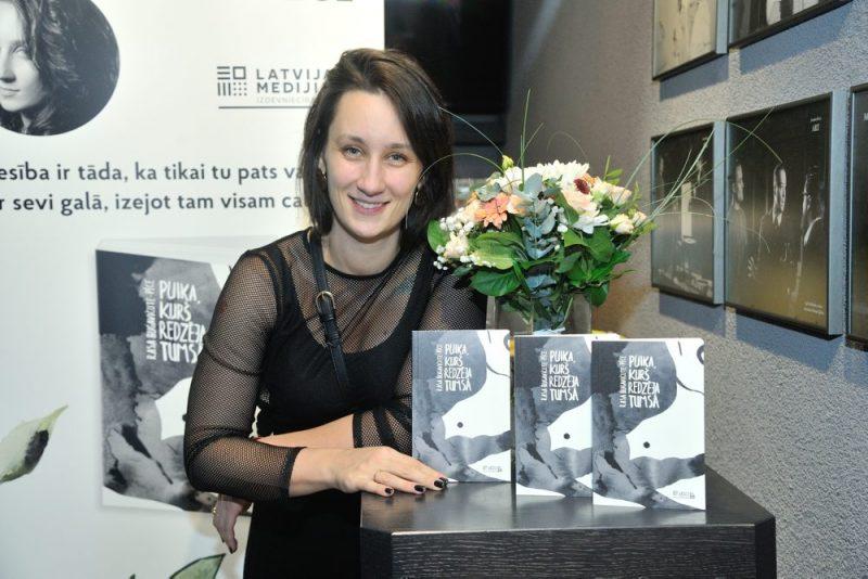 """Prozas bērniem un jauniešiem kategorijā nominēta """"Latvijas Mediju"""" publicētā Rasas Bugavičutes-Pēces grāmata """"Puika, kurš redzēja tumsā"""" ar Zanes Veldres ilustrācijām."""