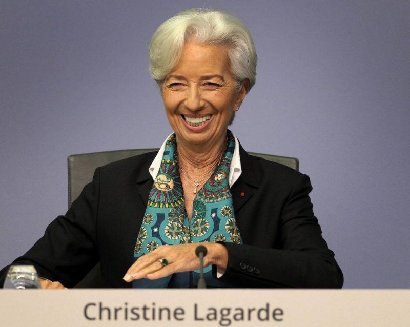 Eiropas Centrālās bankas (ECB) prezidente Kristīne Lagarda.