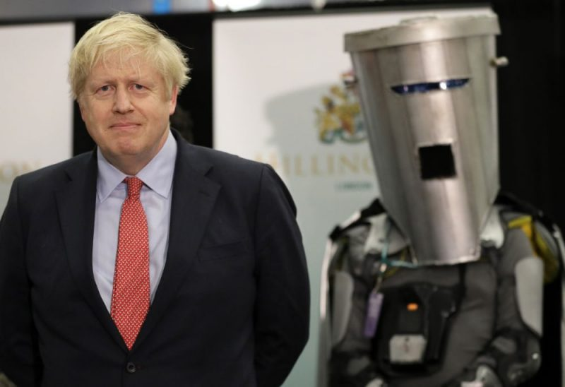 Boriss Džonsons.