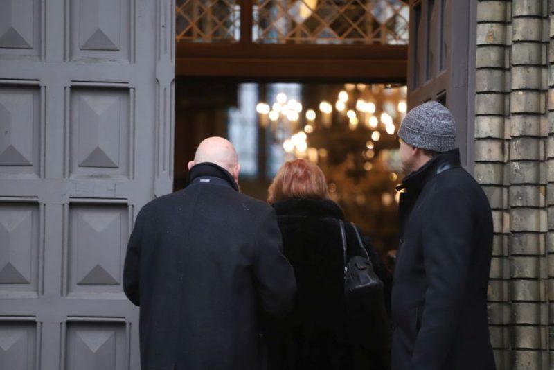 Torņakalna baznīcā atvadās no akadēmiķa Jāņa Stradiņa 2019. gada 7. decembrī