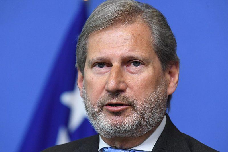 Johanness Hāns, EK budžeta un administrācijas komisārs.
