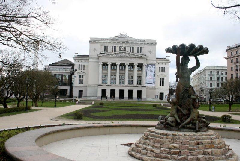 Latvijas Nacionālā opera un balets.