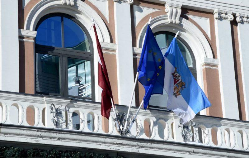 Rīgas domes ēka.