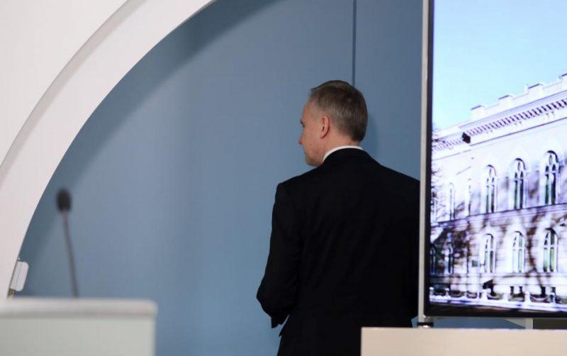 Pirmdien notika Rimšēviča pilnvaru termiņa noslēguma preses konference.